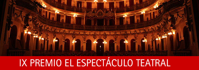 IX PREMIO EL ESPECTACULO TEATRAL