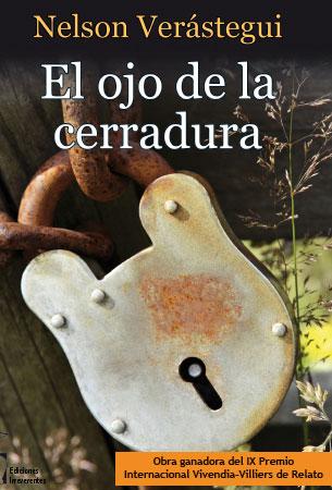 cerradura de la portada del libro