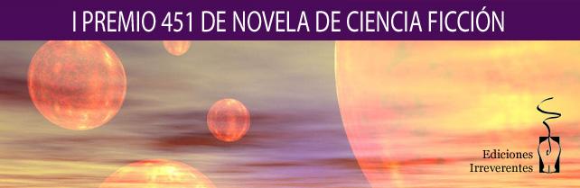 I Premio 451 de Novela de Ciencia Ficción